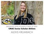 Aggie CMAC Senior Scholar-Athlete: Alexis Krumbach
