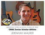 Aggie CMAC Senior Scholar-Athlete: Jeremiah Maurer