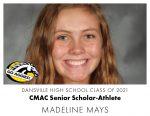 Aggie CMAC Senior Scholar-Athlete: Madeline Mays