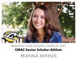 Aggie CMAC Senior Scholar-Athlete: Reanna Minnis