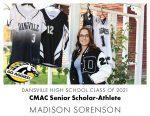 Aggie CMAC Senior Scholar-Athlete: Madison Sorenson