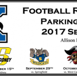 2017 Football Reserved Parking Passes go on Sale August 1st
