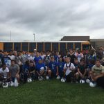 The 2018 Xenia Football Team Heads to Higher Ground  for Team Camp!