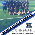 Girls Soccer In Action This Week