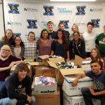 Xenia Community Schools Collect 5,782 Pairs Of New Socks for Houston