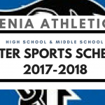 Xenia High School and Middle School Winter Athletics Schedule