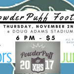 Xenia High School Powder Puff Game November 2nd