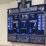 New Scoreboards Up At Xenia High School Gym
