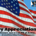 Xenia Athletic Dept. To Honor All Military Personnel Friday January 19th