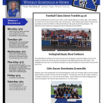 Xenia Athletics Weekly Schedule And News Sept. 10th-15th