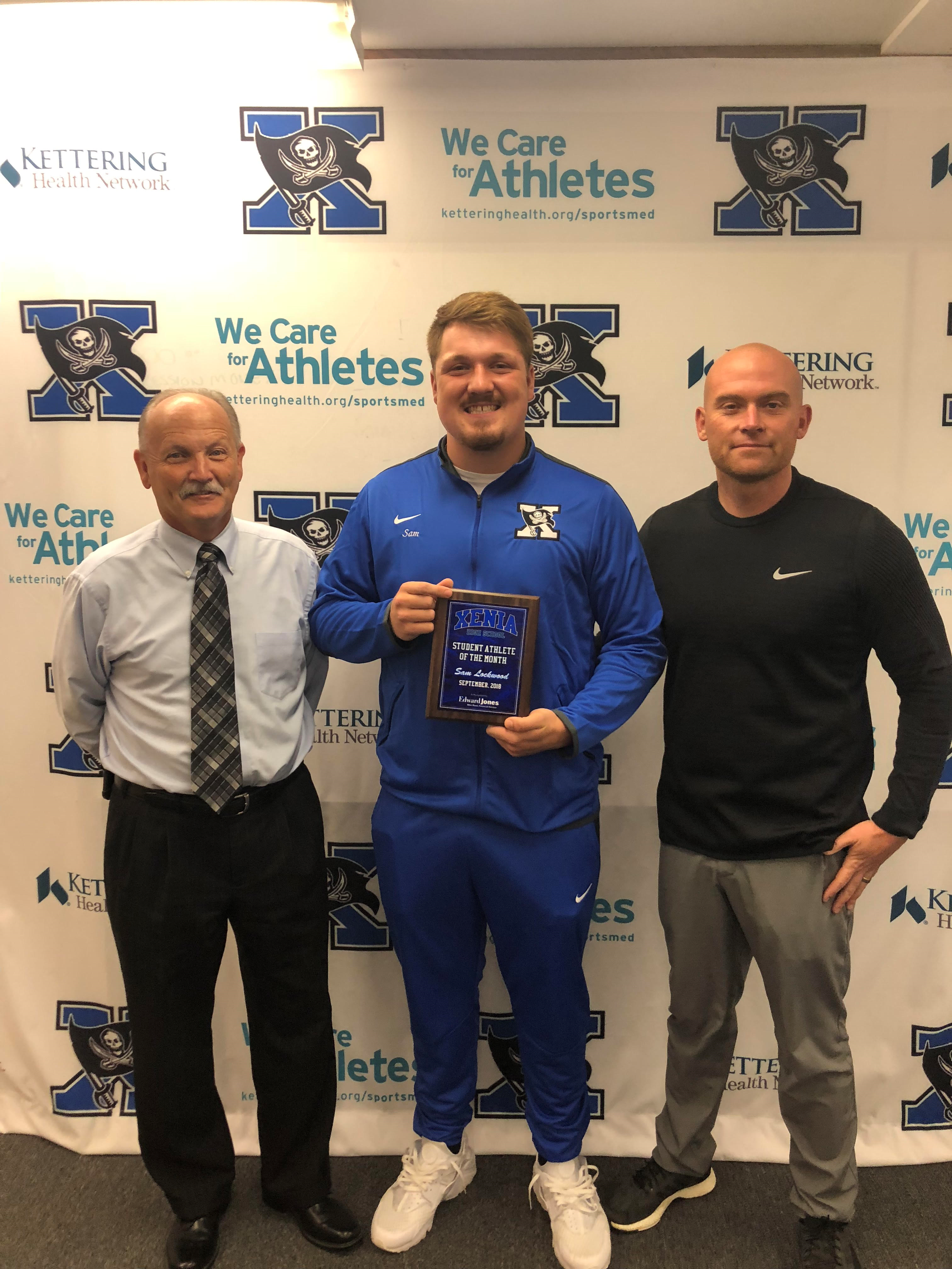 Sam Lockwood Named Student Athlete Of The Month