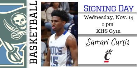 Samari Curtis To Sign With Cincinnati