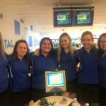 Girls Bowling Team Qualifies For Districts