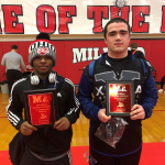 Bartley And Diggs Wrestle Their Way To Districts