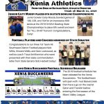 Xenia Athletics Weekly Update! Click For Details!