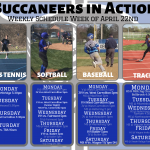 Buccaneers In Action April 22-27