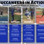 Buccaneers In Action This Week