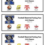 Football Reserved Parking Passes Now On Sale Just $15