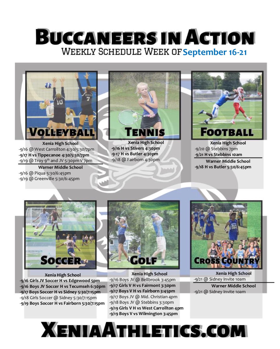 Buccaneers In Action September 16-21