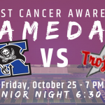 Xenia (7-1) vs Troy (7-1) Breast Cancer Awareness Game Friday October 25th