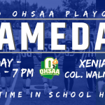 Gameday Information For Playoff Football Xenia vs Walnut Ridge