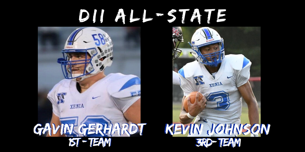 Gerhardt And Johnson Named All-State
