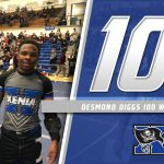 Senior Desmond Diggs Wins 100th Career Match
