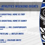 Xenia Athletics HS Weekend Events Jan. 24-26