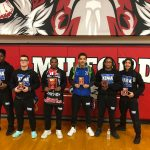 Desmond Diggs Wins Milford Invite, 6 Wrestlers Place