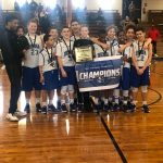 7th Grade Boys Basketball Wins MVL Championship