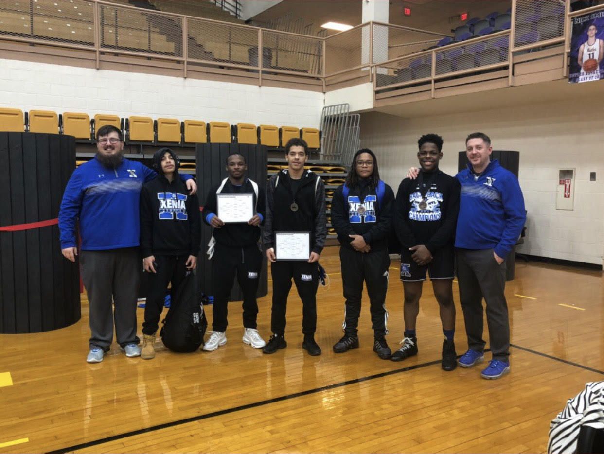 Diggs And Nared Win MVL Wrestling Championships, Five Place
