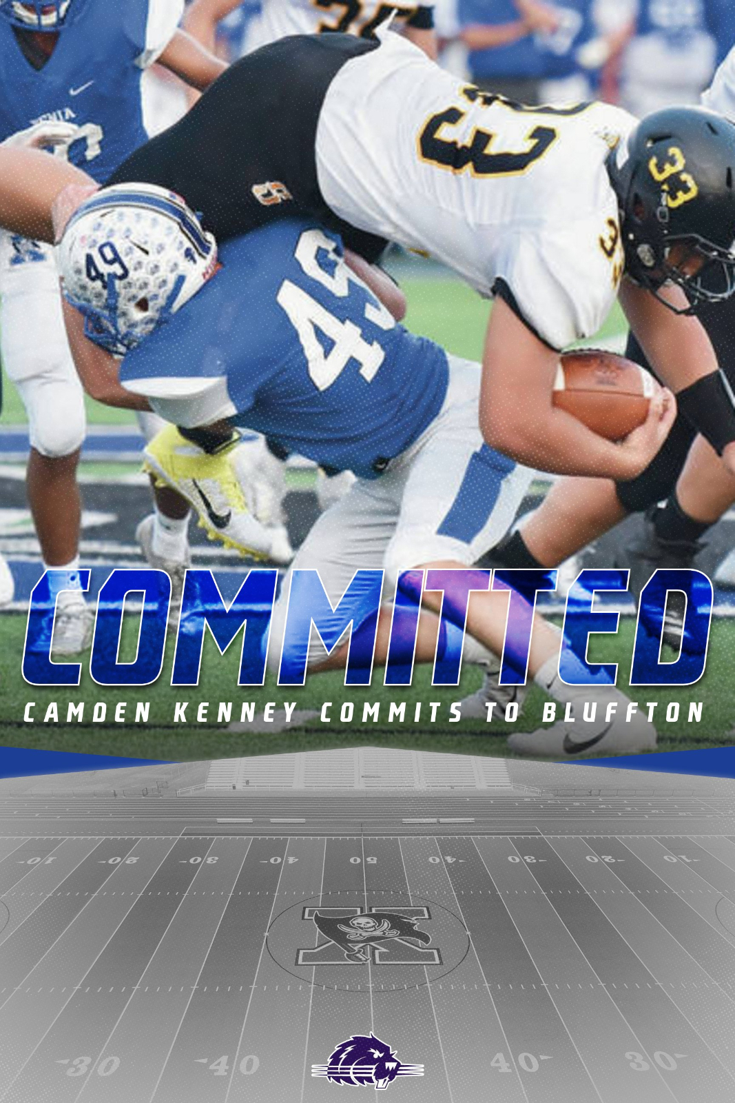 Camden Kenney Commits To Bluffton