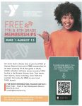 Xenia YMCA Offering Free Passes For 7th And 8th Graders This Summer