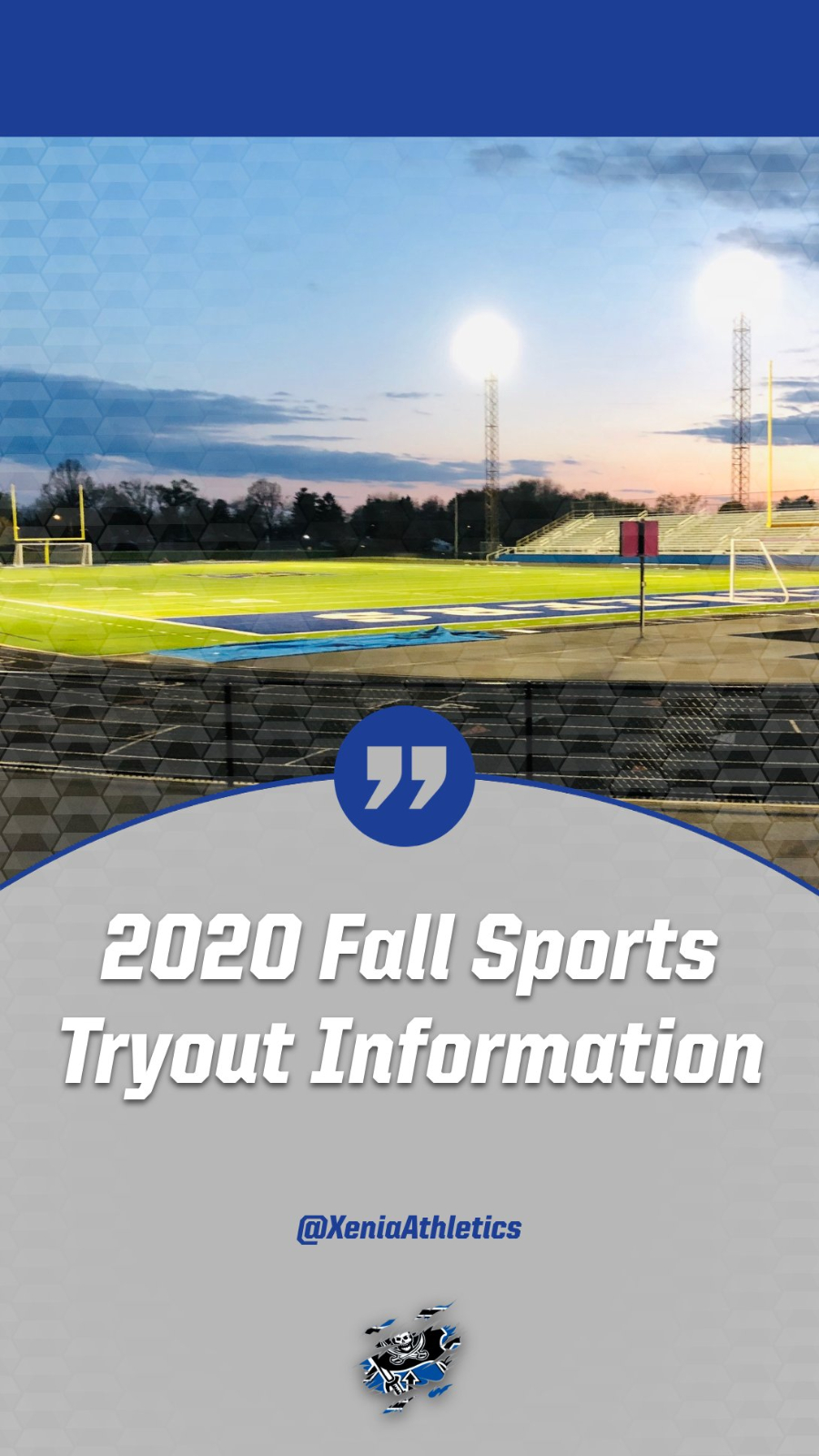 Updated Fall Tryout Schedule All Sports