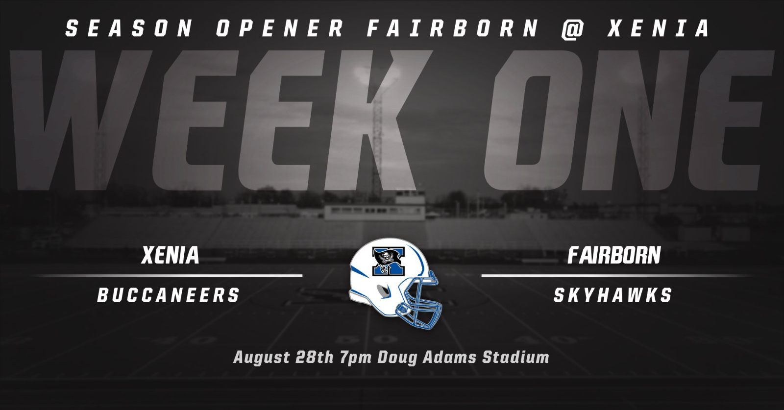 Xenia To Host Fairborn Week One In New Football Schedule