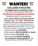 FREE Recruiting Seminar Tonight At 8pm