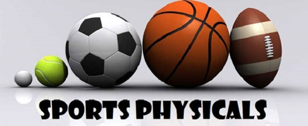 Sports Physicals Offered May 26th Just $15