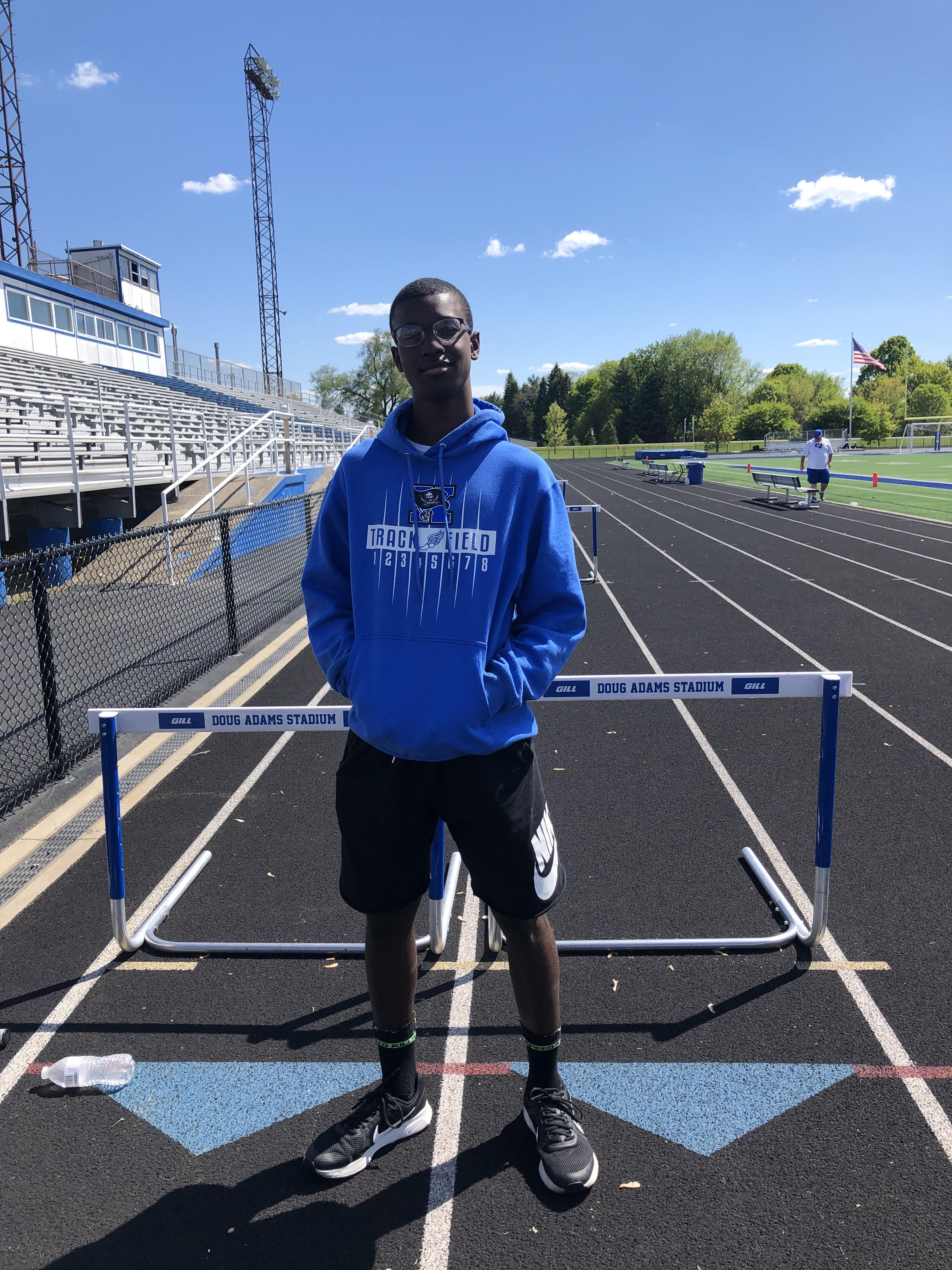 Roman Smith Qualifies For Middle School State Track & Field Championships