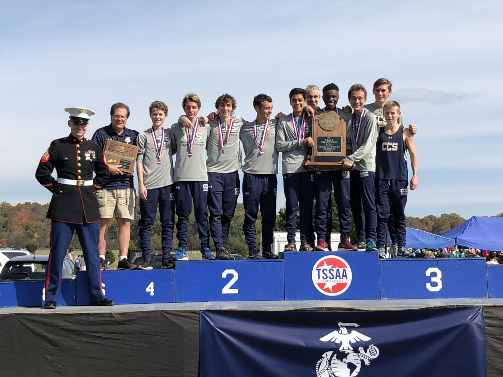 CCS XC 2017 DII A STATE CHAMPIONS!!!!!