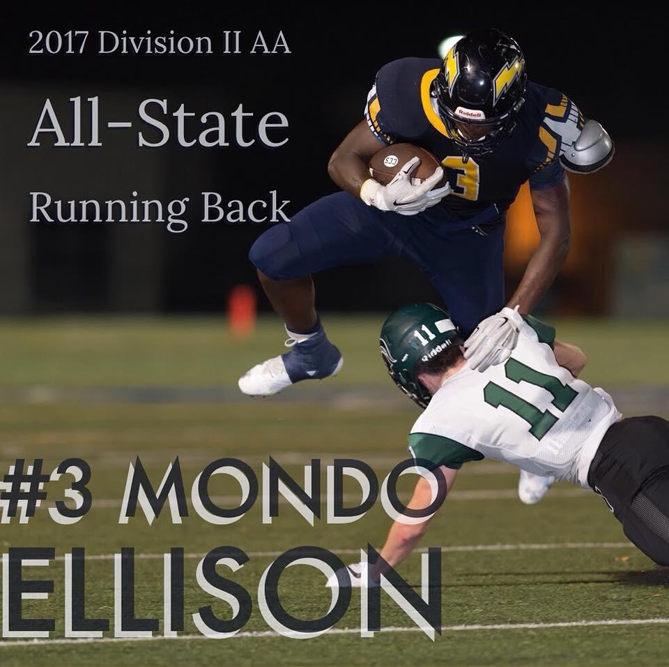 Ellison Named ALL-STATE