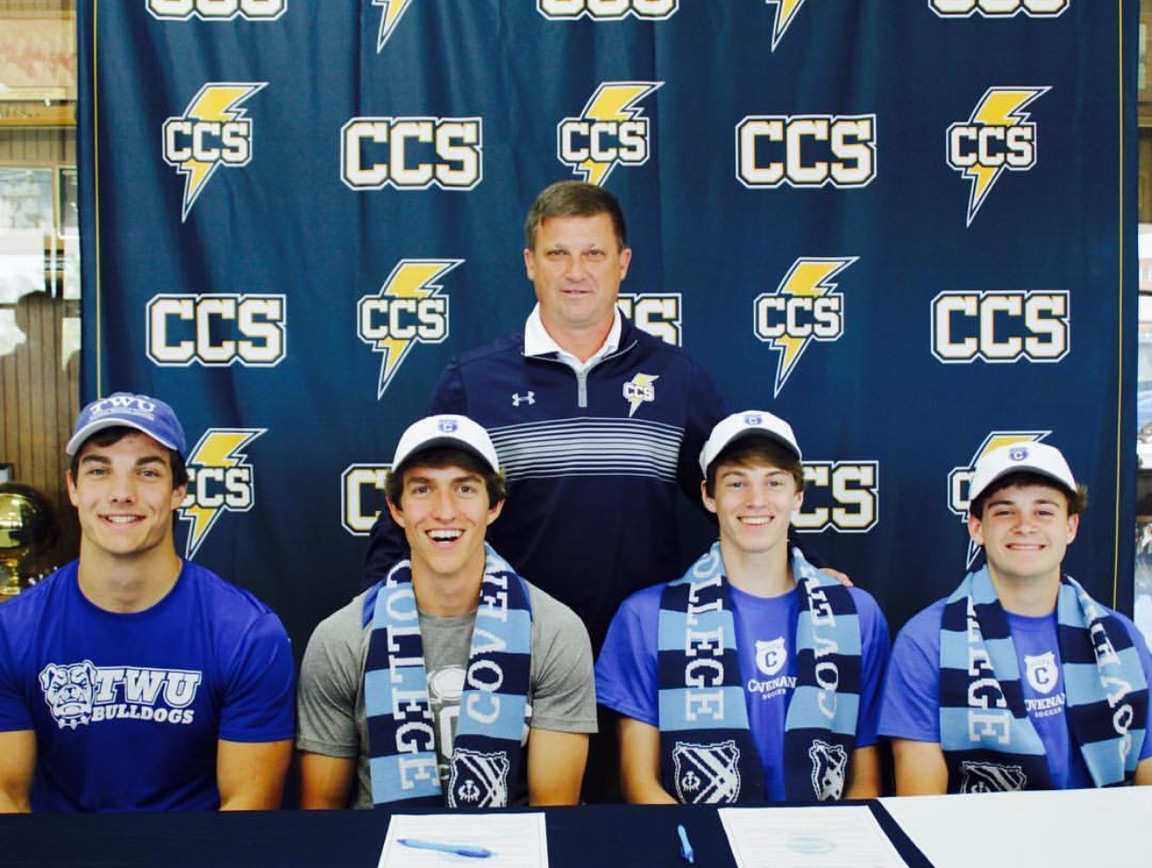Chargers Continue Soccer Careers