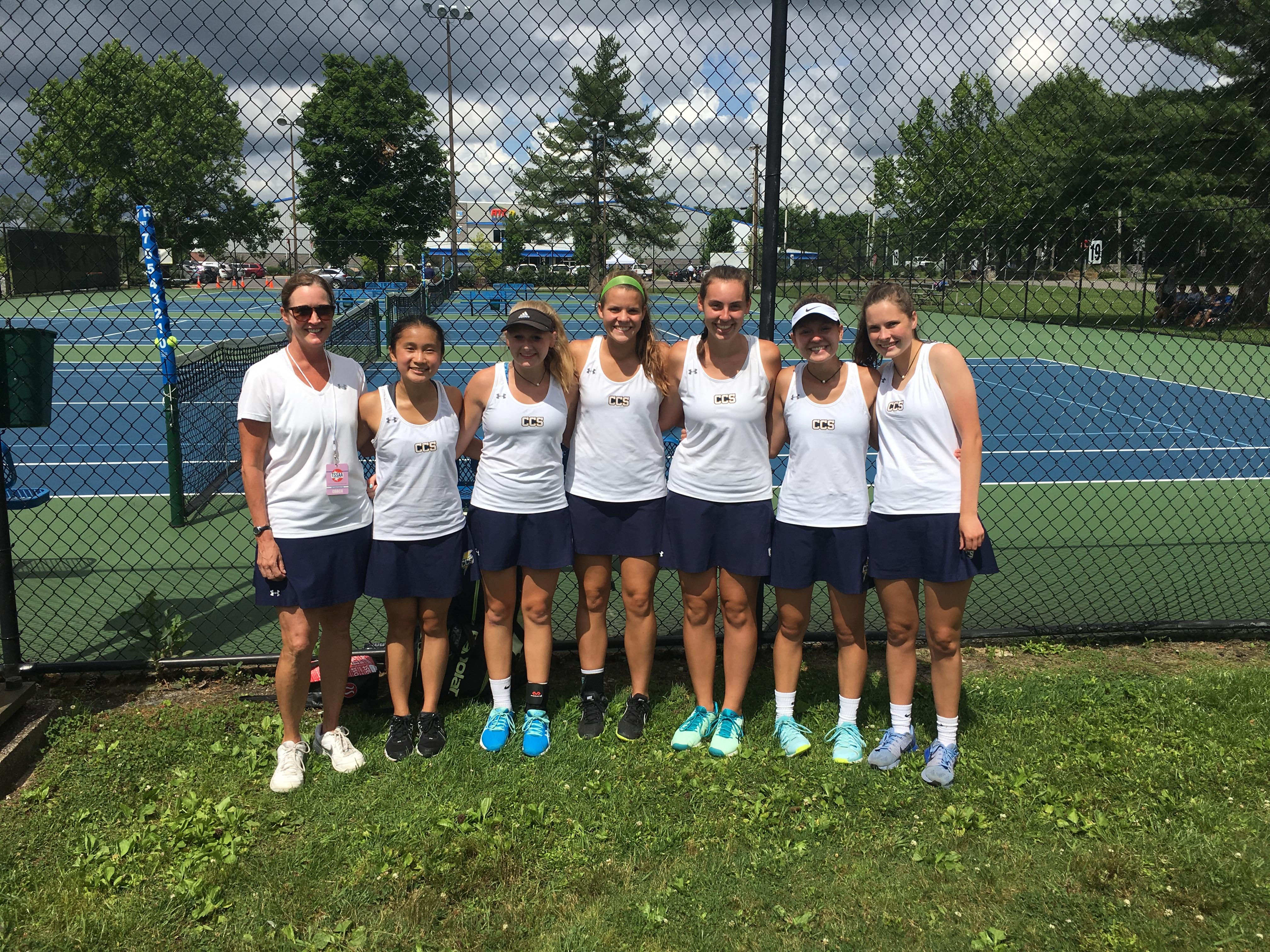 Tennis Advances to State Championship