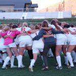PCHS Girls Soccer Pregame Huddle