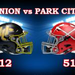 Park City High School Varsity Football beat Union High School 51-12