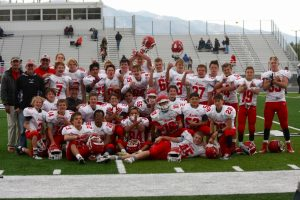 Football Freshman at Ridgeline 10-06-2016