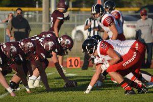 Football Varsity at Morgan 08-18-17