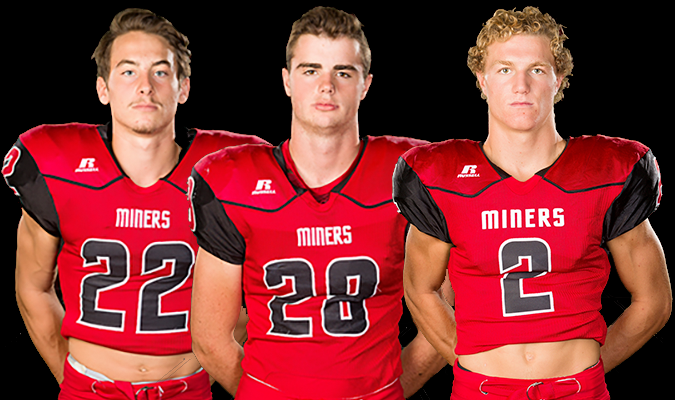 Miners Receive Post-Season Recognition on the Gridiron