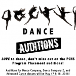 Dance Company Auditions