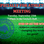 PCHS Especially for Athletes 2018-19 Kickoff Meeting