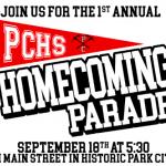 Park City High School Homecoming Parade Wednesday, September 18th